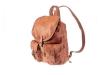 Kožený batoh jelenice hnědý koňak