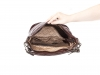 Dámská kožená kabelka s dlouhým a krátkým popruhem