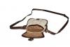 Malá kožená kabelka přes rameno