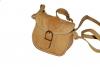 Malá světlá kožená kabelka