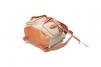 Kožený látkový batoh Lux dvě kapsy