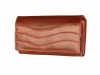 Hnědá dámská kožená peněženka