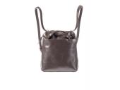 Kožený batoh - kožená kabelka hnědá