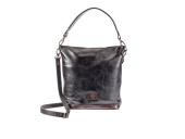 Kožená dámská kabelka