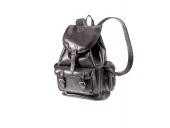 Kožený batoh velký tři kapsy