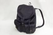 Kožený batoh vepřová štípenka černý