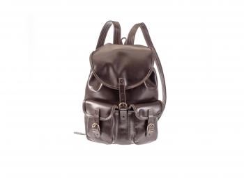 Kožený batoh Lux dvoukapsový