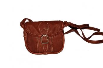 Jelenicová malá kožená kabelka