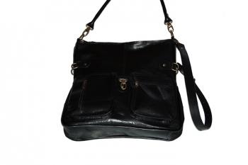 Velká dámská kožená kabelka