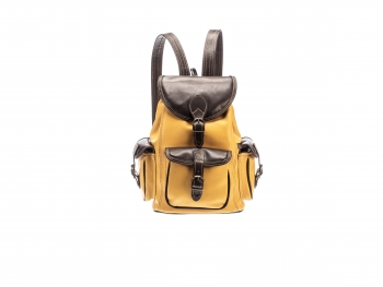Kožený batoh speciál kombinovaný