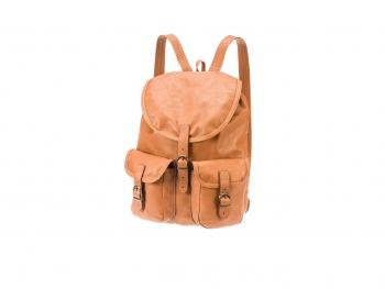 Kožený batoh Lux rezavohnědý