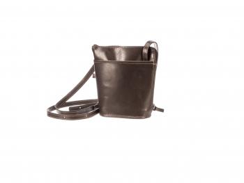 Malá kožená kabelka se zipem