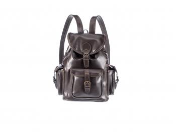 Kožený batoh speciál tři kapsy